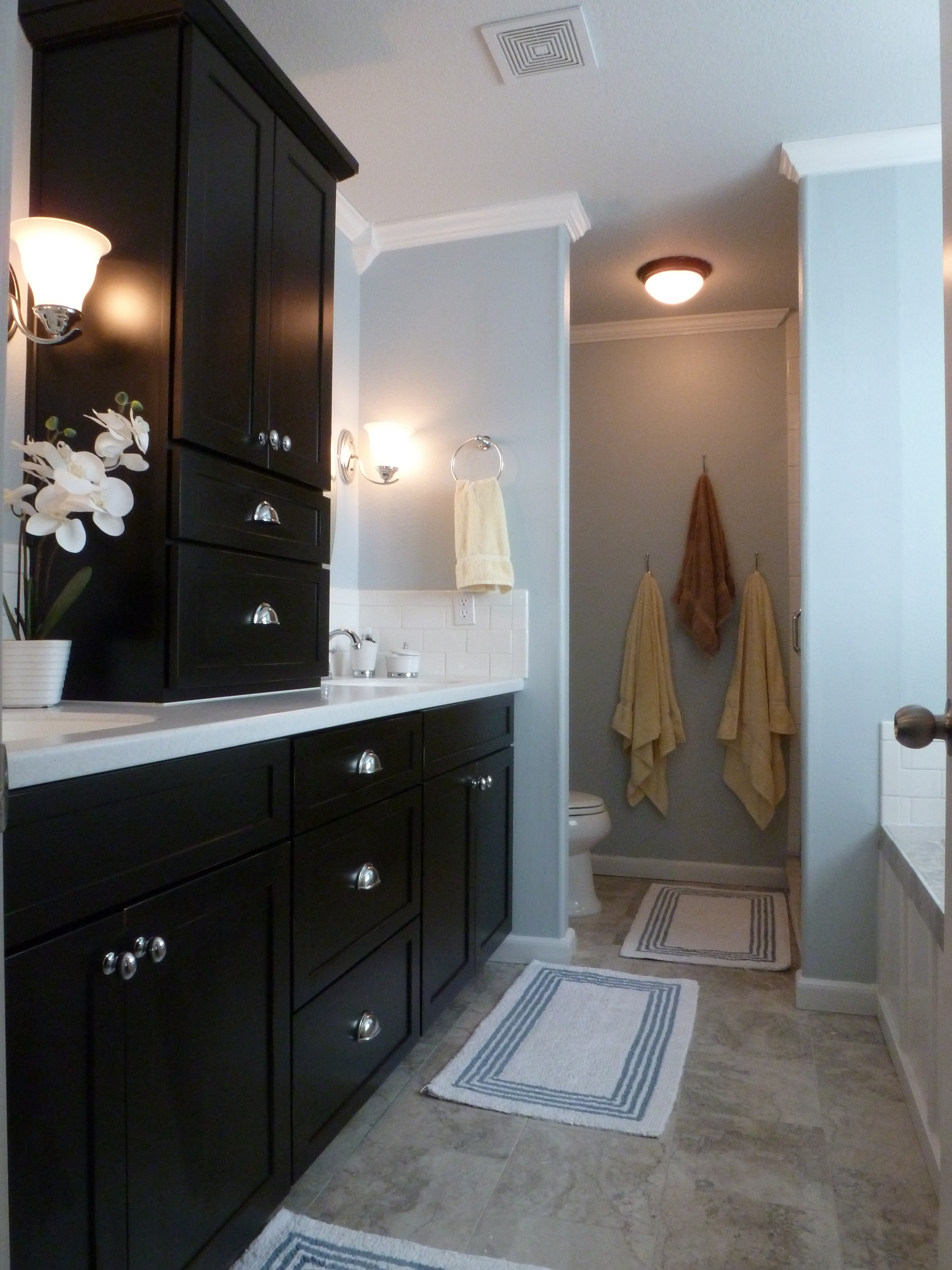 Before  After Bliss Our Monster Master Bathroom Renovation  Teller All About It