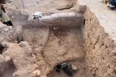 Excavation of Area E 2013