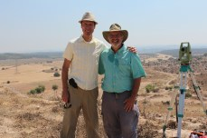 Allen Brown (Canadian Embassy to Israel Political Counselor) and Haskel Greenfield, 2013