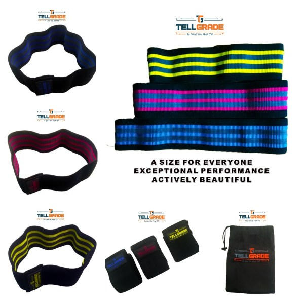 tellgrade® Resistance Band Booty bands banner