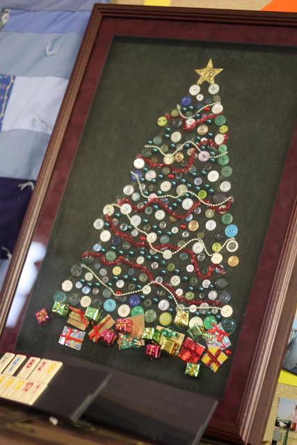 50 Button Crafts Idea 40 Button Christmas Trees