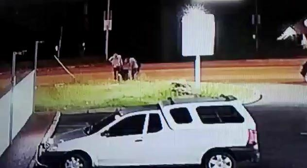 Watch: Three suspects ruthlessly attack and rob man in Verulam