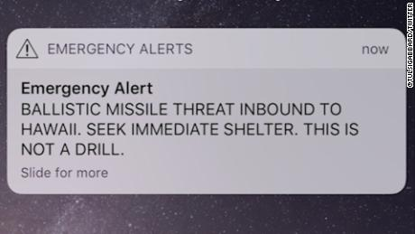 From paradise to panic: Hawaii residents and vacationers run for cover, fearing missile attack