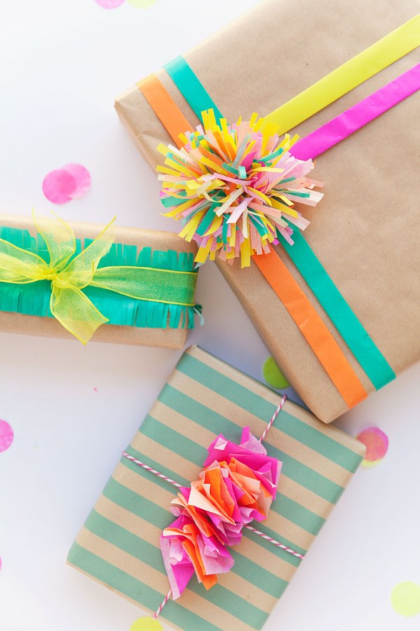 3 FUN WAYS TO WRAP WITH TISSUE PAPER Tell Love and