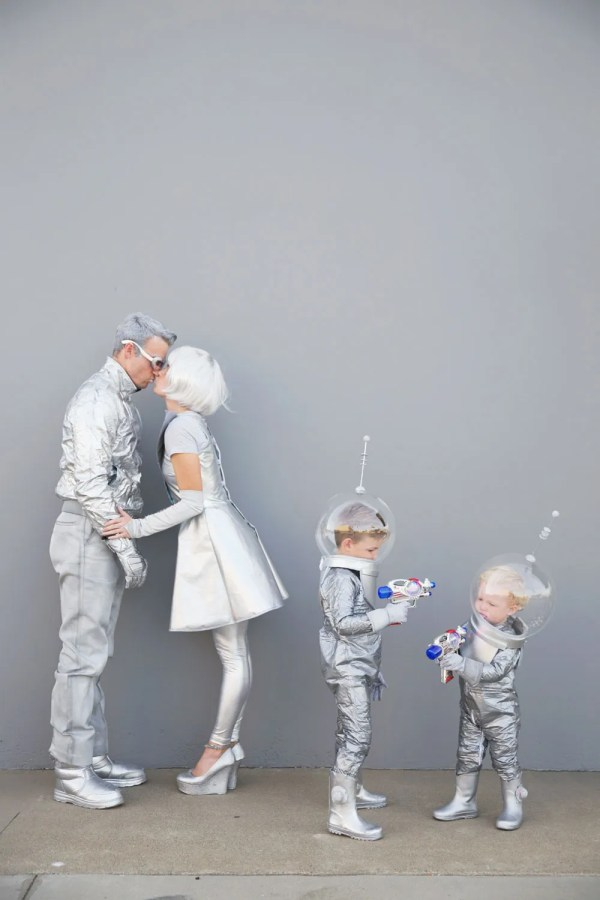 Diy Space Family Costumes - Love And Party