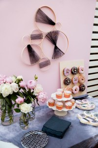 BLACK AND PINK BABY SHOWER - Tell Love and Party