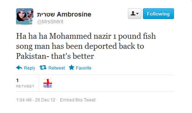 Mrs Ambrosine Shitrit – 'I am not anti-Muslim…….'