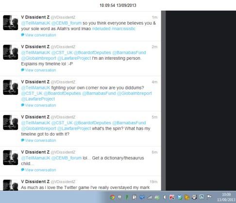 VDissidentZ Tweets 1