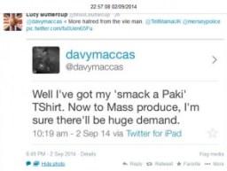 @davymaccas anti-Muslim hate