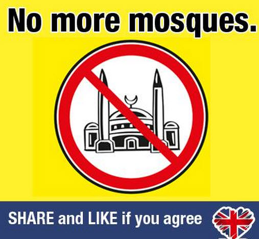 British National Party Facebook Page Draws in Threats Against Mosques