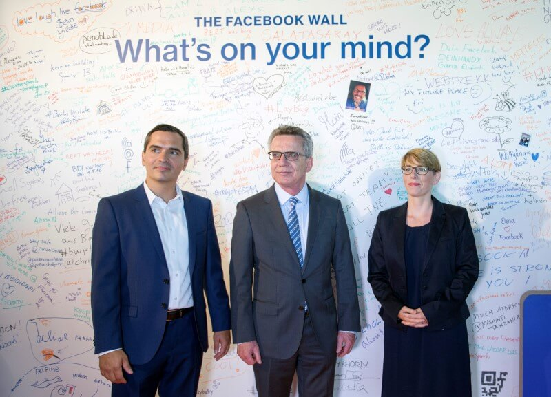 Germany wants Facebook to take initiative in fight against online hate