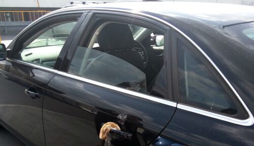 Muslim man finds bacon on his car door handle in public car park
