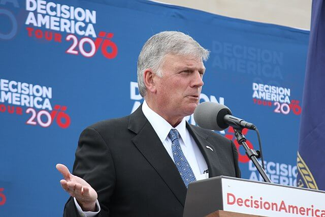 Blackpool Council's Response to Complaints about Televangelist Franklin Graham