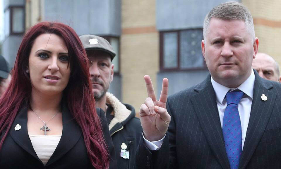 Britain First leader and deputy leader guilty of anti-Muslim hate crimes