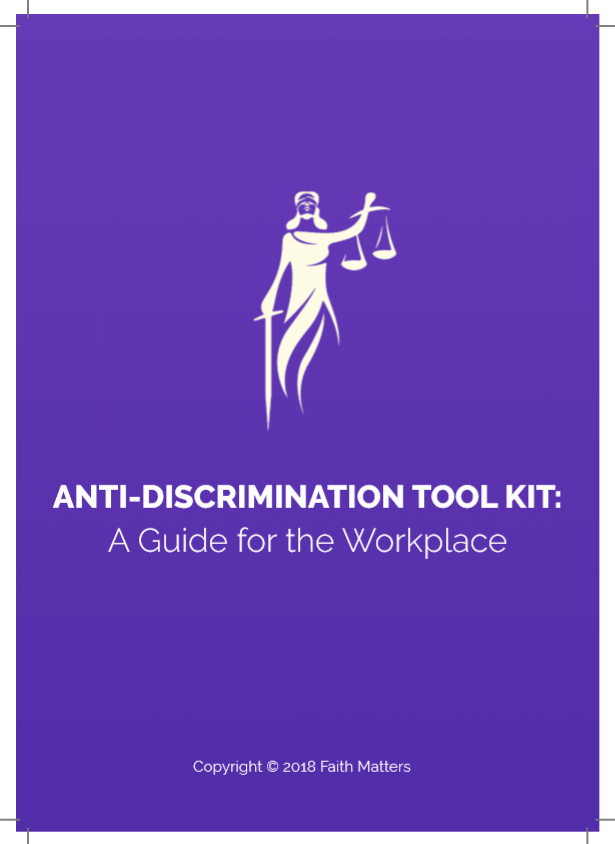 ANTI-DISCRIMINATION TOOL KIT: A Guide for the Workplace