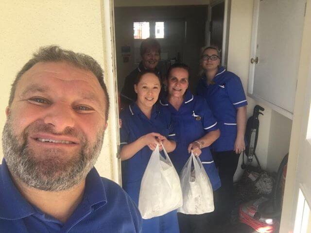 Coronavirus: Canterbury Mosque members donate 2,000 meals to key workers and raise £400 for PPE