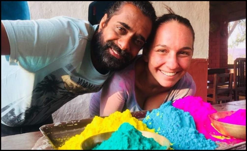 Sunny and Sabrina - Celebrating Holi - Telloway - Bhoramdeo Jungle Retreat