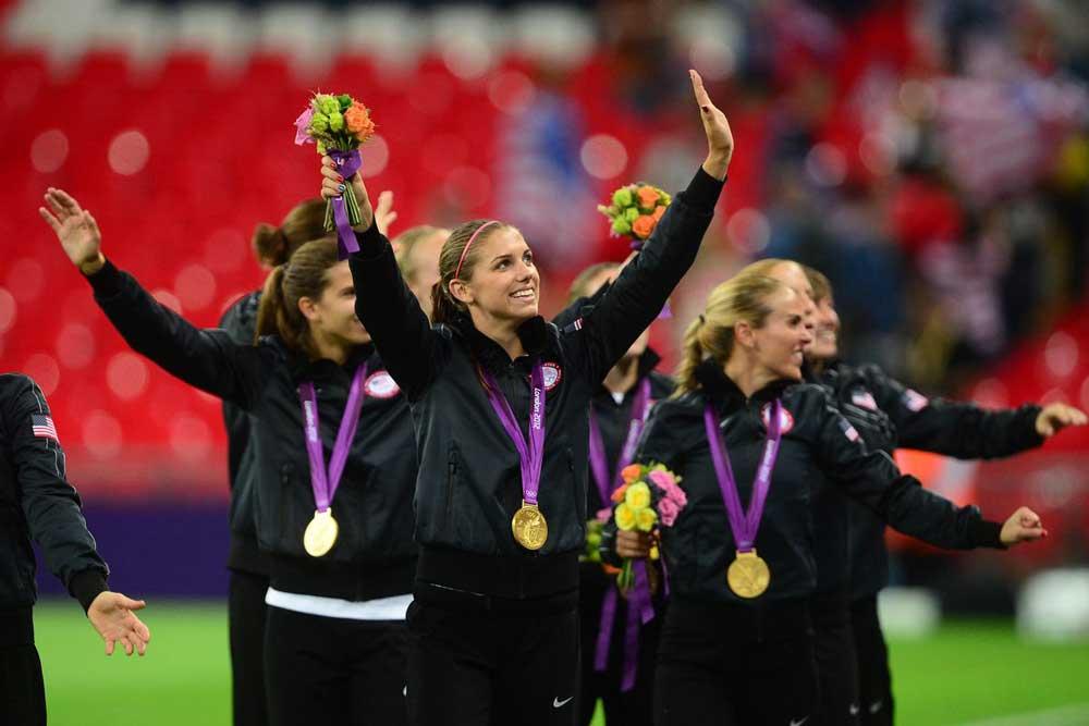 Alex Morgan gold medalist