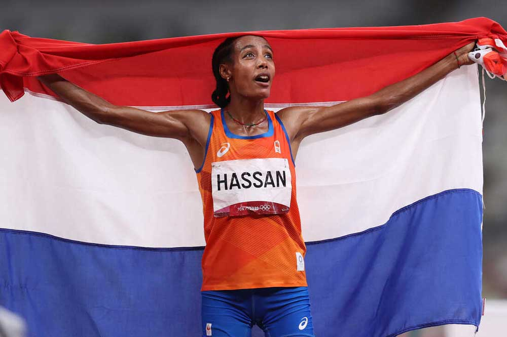 Sifan Hassan from the Netherlands
