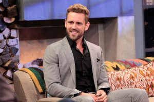 "THE BACHELOR - Nick Viall, the runner-up on both Kaitlyn Bristowe's and Andi Dorfman's seasons of ""The Bachelorette"" and a current participant on the third season of ""Bachelor in Paradise,"" was named as the next man to give out the roses and, hopefully, this time find his happy ending. Is he ready to put all the heartbreak behind him as he searches for his one true love when he stars in the 21st season of ABC's hit romance reality series ""The Bachelor,"" returning to ABC in January 2017? The stunning announcement was made live tonight on ABC's ""Bachelor in Paradise: After Paradise"" show. (ABC/Rick Rowell)"