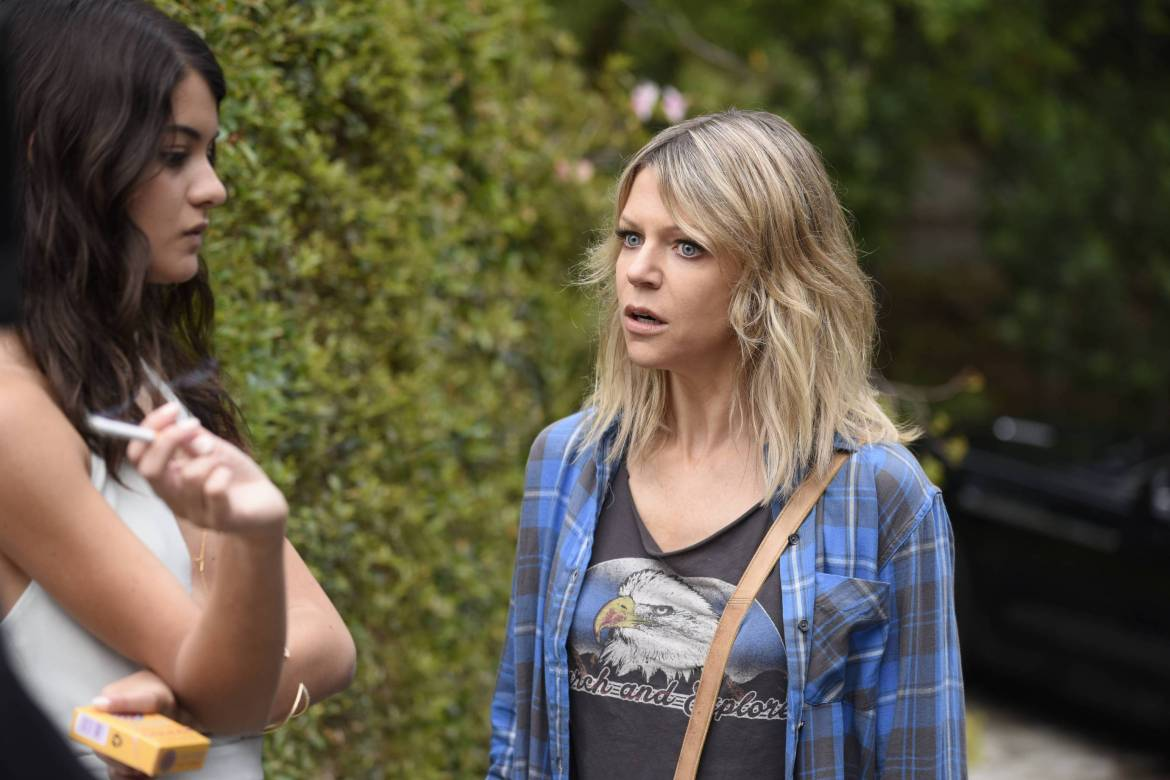 THE MICK: L-R: Sofia Black-D'Elia and Kaitlin Olson in the special premiere of THE MICK airing Sunday, Jan. 1 (8:00-8:30 PM ET/PT) on FOX. THE MICK makes its time period premiere with an all-new episode Tuesday, Jan. 3 (8:31-9:01 PM ET/PT on FOX. ©2016 Fox Broadcasting Co. CR: FOX