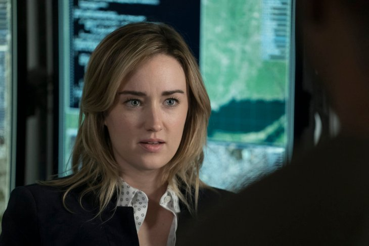 """BLINDSPOT -- """"Droll Autumn, Unmutual Lord"""" Episode 211 -- Pictured: Ashley Johnson as Patterson -- (Photo by: Peter Kramer/NBC)"""