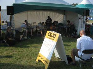CKUA Booth