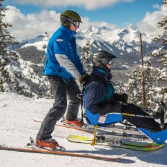 Wheelchair Skiing Best Foldable Lawn Chair Telluride Adaptive Sports Program Tasp Colorado