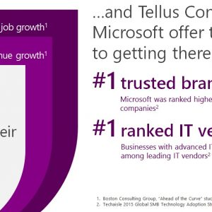 Tellus Consulting and Microsoft offer a clear path to making technology your differentiator
