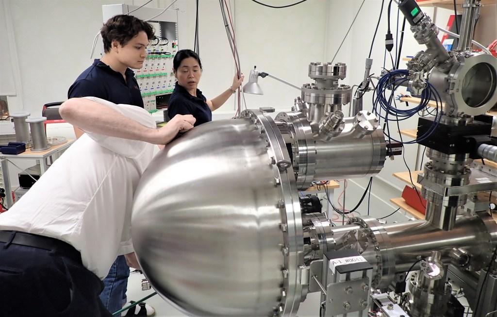 Ett av de avancerade mätinstrument som MB Scientific levererar över hela världen.
