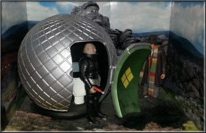 Stiles the Sontaran and 4th Doctor