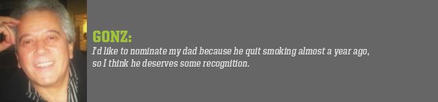 Gonz's Dad