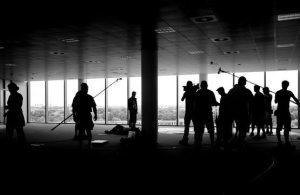 corporate video production crew
