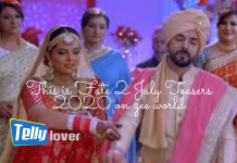 This is Fate 2 July Teasers 2020 on zee world