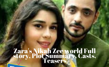 Zara's Nikah Zee world Full story, Plot Summary, Casts, Teasers