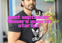 Geet September Teasers 2020 On Starlife