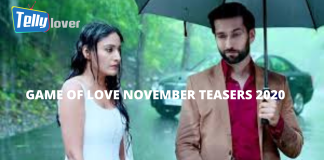 GAME OF LOVE NOVEMBER TEASERS 2020