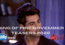Ring of Fire November Teasers 2020 Zee World