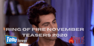 Ring of Fire November Teasers 2020 Zee World