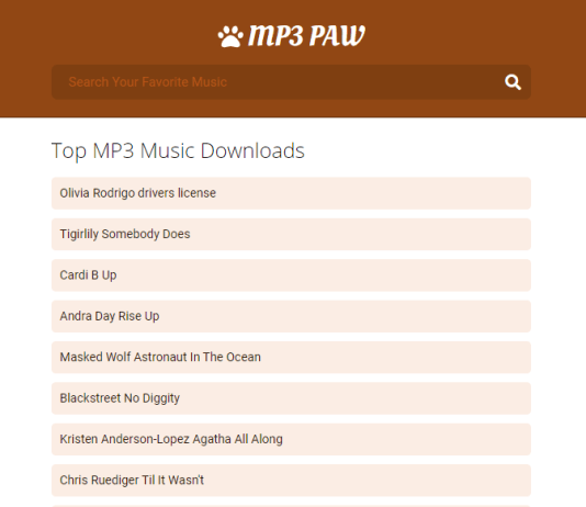 MP3Paw - Free Download Mp3 Songs (MP3 Paw)