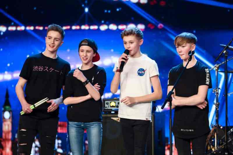 Boy band Chapter 13 (Amanda Holden's golden buzzer)