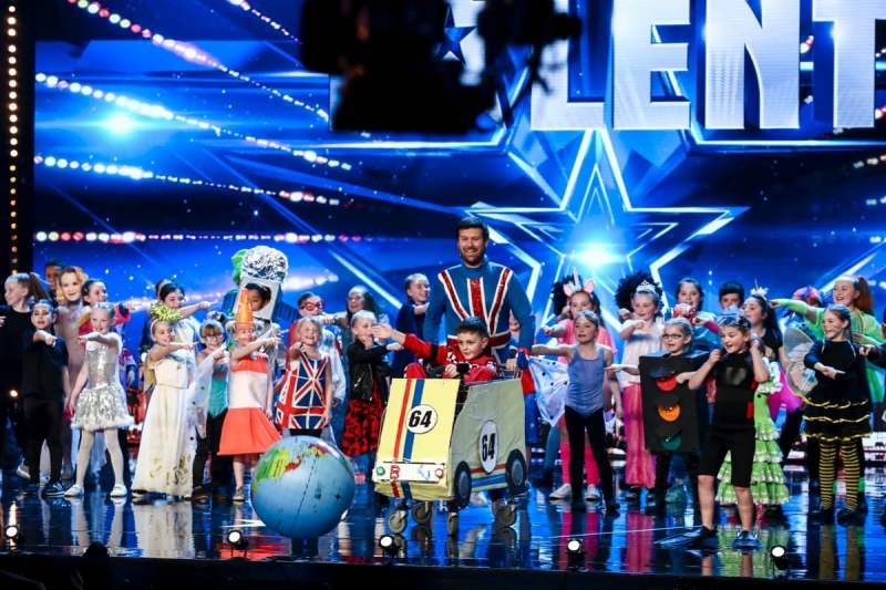 Dancers Flakefleet Primary School (David Walliams golden buzzer)