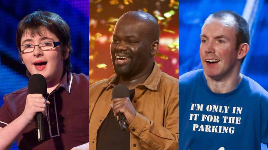 Jack Carroll, Daliso Chaponda and Lost Voice Guy on Britain's Got Talent