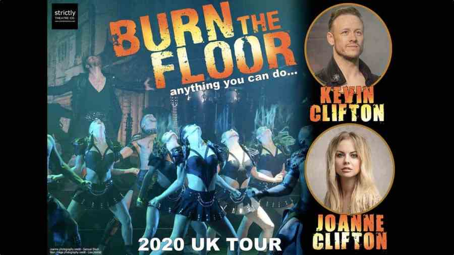 burn the floor joanne kevin tour tickets