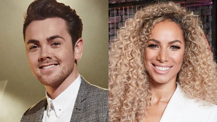 Ray Quinn and Leona Lewis