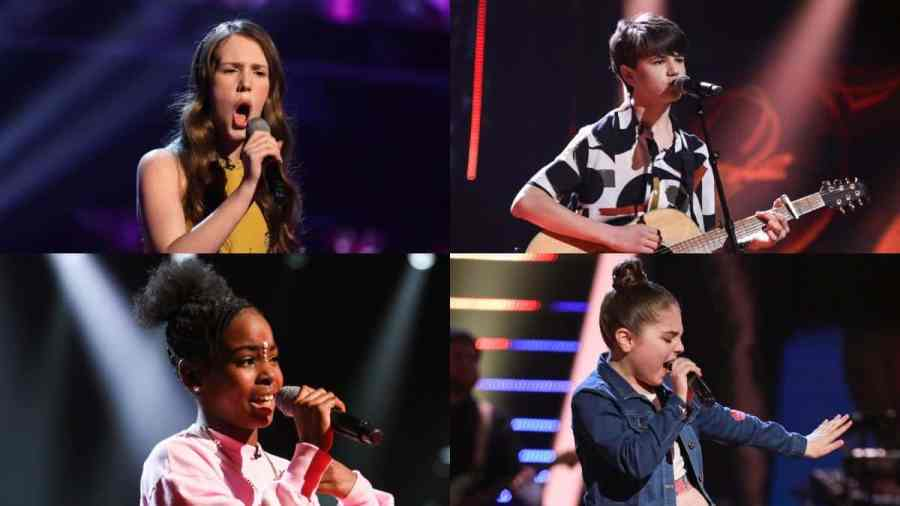 the voice kids finalists