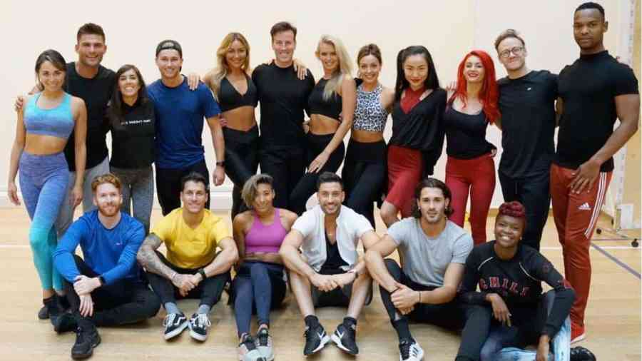 Strictly Come Dancing 2019 pro rehearsals