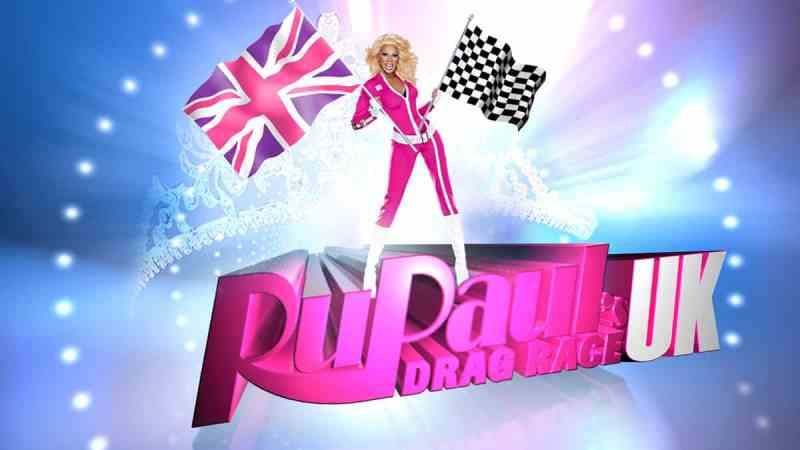 RuPaul's Drag Race UK logo