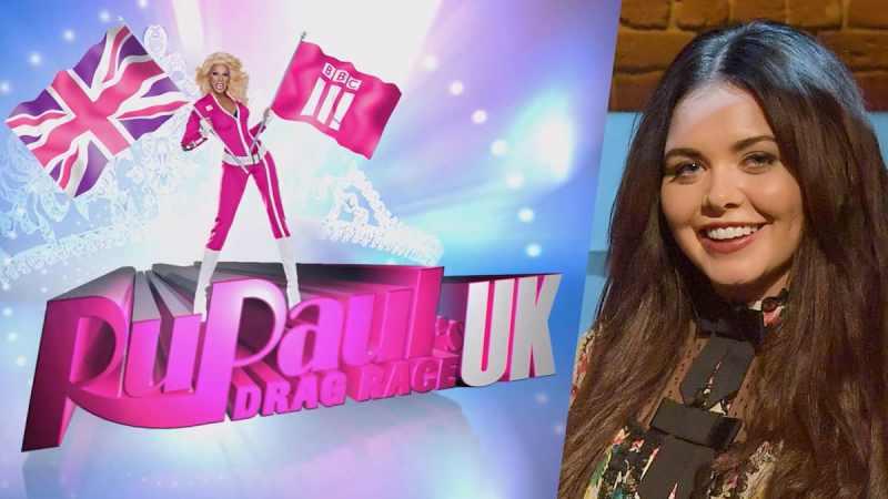 RuPaul's Drag Race UK logo, Scarlett Moffatt