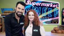 Rylan Clark-Neal with Supermarket Sweep co-host Jennie McAlpine